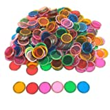 Tapp Collections Bingo Transparent Chips 300-pk - Assorted Colors