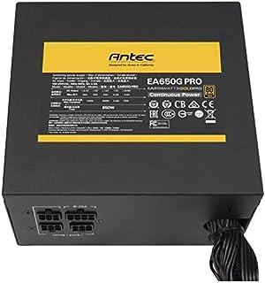 Antec EA650G Pro Unidad de - Fuente de alimentación (650 W, 100-240 V, 50-60 Hz, Activo, 130 W, 600 W)