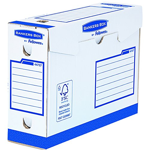 Bankers Box 4472702 Heavy Duty Archivschachtel 20er Pack 100% recycelt, 100 mm