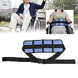 車椅子シートベルト 安全ウエストラッ ナイロンスポンジ付き通気性素材耐久性安全バックル洗濯機で洗えます 車椅子付属品,発作または転倒のリスクがある患者