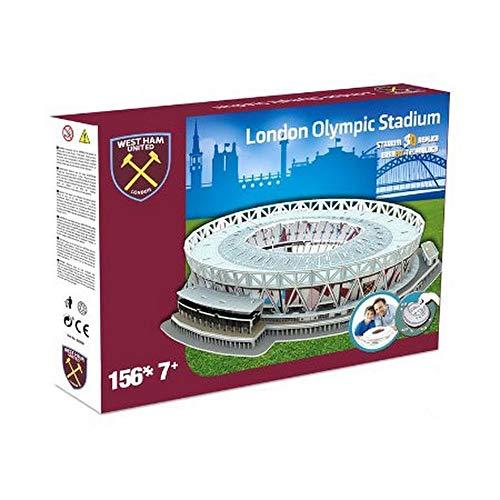 KARACTERMANIA Nanostad, Puzzle 3D Estadio Millenium Stadium Original de West Ham (3865), Unisex, Multicolor