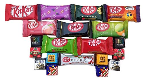 20 KitKat & Tirol Japonais Assortiment Chocolat