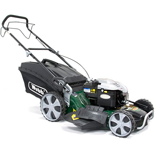 Webb WER21HW 'Supreme' Self-Propelled Hi-Wheel Petrol Rotary Lawnmower