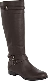 Best janis leather wide calf boot by comfortview Reviews