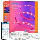 Govee Tiras LED 5m, Luces LED Bluetooth Control de App con 64 Modos de Escena y Sincronización de Música, Tira LED RGB para Habitacion, Cocina, Fiesta, Bricolaje, Decoración del Hogar