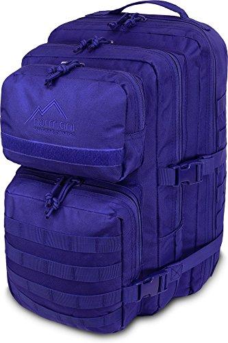 normani USA Assault Pack Large Rucksack ca. 50 Liter Farbe Marine