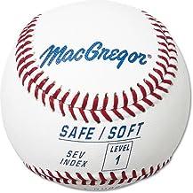 كرة بايسبول MacGregor Safe/Soft للأطفال من المستوى 1 (دوزين واحدة)