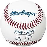MacGregor Safe/Soft Baseballs, Kids, Level 1 (One Dozen)