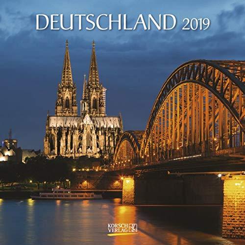 Deutschland (BK) 225419 2019: Broschürenkalender mit Ferienterminen