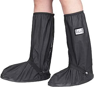 KRATARC Waterproof Shoes Covers Foldable Rain Boot Reflective Snow for Men Women Outdoor Cycling Walking Hiking