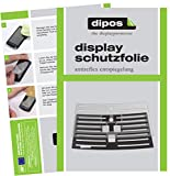 dipos 2X Matte Schutzfolie kompatibel mit Philips EP4051/00 Tropfblech I Kaffeevollautomaten I Abtropfblech I Abtropfgitter kompatibel mit Kaffee-Maschine