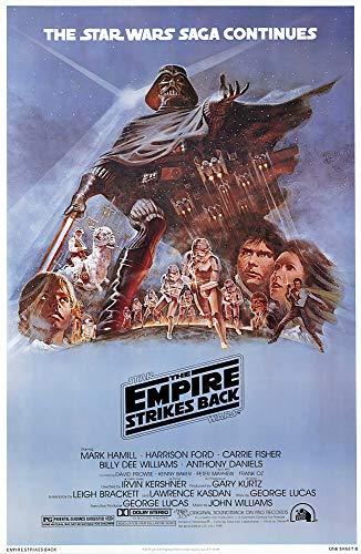 Póster Star Wars 'The Empires Strikes Back/El Imperio contraataca' (68,5cm x 101,5cm)
