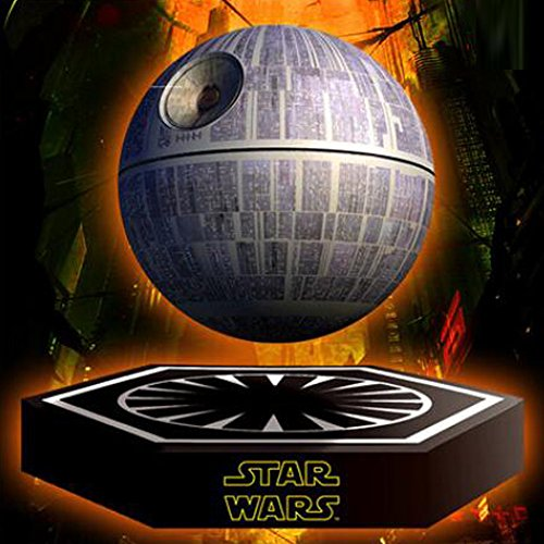 hellosyStar Wars Death Star Levitating Speaker Bluetooth Wireless Portable Rechargeable High Quality Floating Sound System