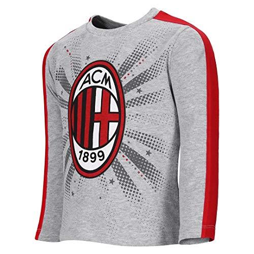 ARNETTA T-Shirt Milan Logo Neonato Maglietta Grigia Bambino Primi Mesi PS 27937-24 Mesi