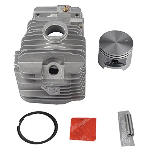 Hipa 49mm Cylinder Piston Bearing with Fuel Tune Up Kit for STIHL MS390 MS310 029 039 Chainsaw