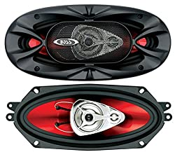 small BOSS Audio Systems CH4330 Car Speakers – 400 W per pair, 200 W each, 4 x 10…