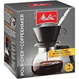 Melitta Pour-Over Coffee Brewer W/ Glass Carafe, 6 Cups (6 Ozper Cup)