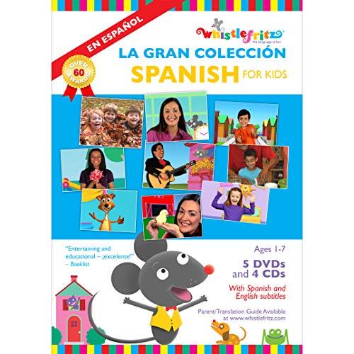 Spanish for Kids: La Gran Colección (5 videos, 4 music albums) Michigan