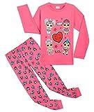 L.O.L. Surprise! Pijama Niña, Conjunto 2 Piezas Pijama Niña Invierno Largo de Las Muñecas LOL, Ropa ...