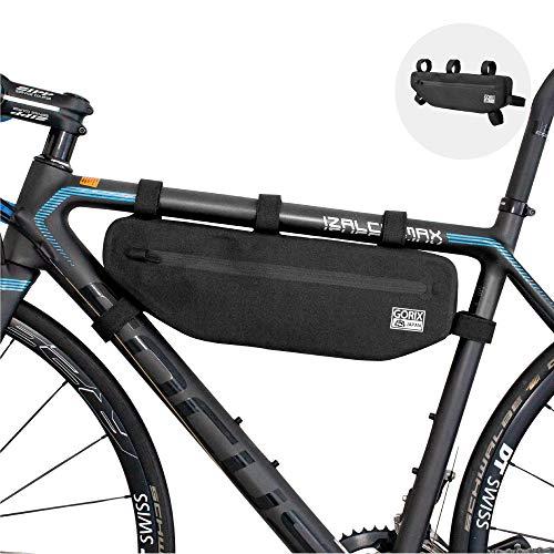 GORIX ゴリックス フレームバッグ 自転車 防水 (GX-FB43)トップチューブバッグ サイクルバッグ ロードバイ...