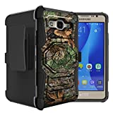 Untouchble Case for Samsung Galaxy On5   On5 Tree Camo Case [Rugged Holster Case]- Swivel Holster Case with Dual Layer Phone Protection and Kickstand - Tree Camo Branch