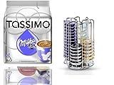 TASSIMO T-Disc Milka Schokolade (8 Portionen) + dem neuen Tassimo Kapselhalter für 52 Kapseln von Bosch