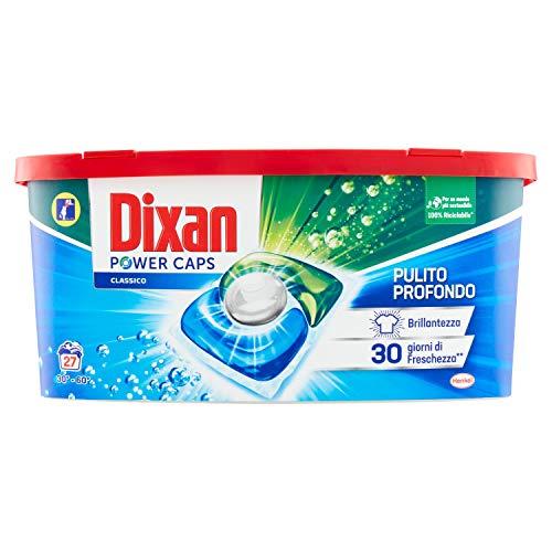 Dixan PowerCaps, Detersivo Lavatrice Capsule, 27 lavaggi - 1 X 400 g