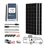 PowerECO 3x200W Mono Solar RV Kits with 40A MPPT Charge Controller (600W MPPT40A)