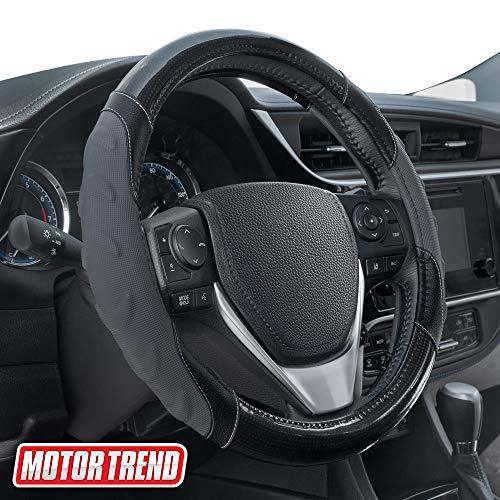 Motor Trend Leather Steering Wheel