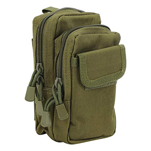 SALUTUYA Waist Storage Bag Army Green Outdoor Waist Bag Sturdy,for Outdoor,for Hiking