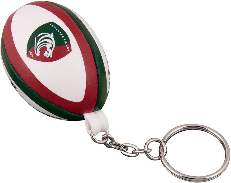 5 popular GILBERT leicester OFFicial store tigers rugby ring ball key