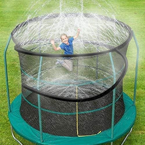 噴水マット スプリンクラー 12m ビニールプール ホース 噴水おもちゃ 持ち運び便利 赤ちゃん 子供 水遊び 夏の庭 芝生 親子ゲーム
