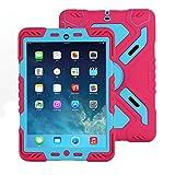 iPad 2 3 4 Coque, Meiya New étanche résistant aux chocs saleté Neige Sable Proof Survivor Extreme...