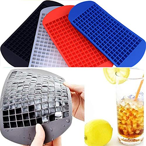 Lowest Price! LEANO Durable Silicone Ice Cube Molds Ice Cube Tray Make Ice Tool Ice Cream Machines