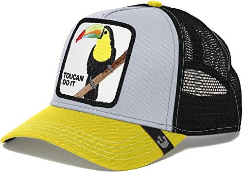 Goorin Bros. Trucker Cap IGGY NARNAR Toucan Grau Gelb, Size:ONE Size