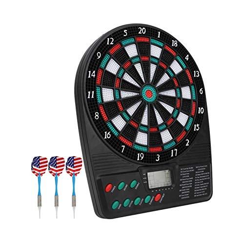 SXGKYY Elektronische Dartscheibe Dart Game Set Display Automatische Scoring Dart Platte Zähltafel Hauptpartei
