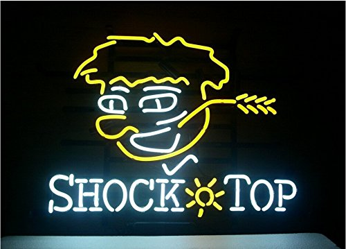 Shock Top Beer Bar Pub Store Party Room Wall Windows Display Neon Signs 19x15