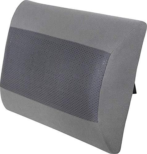 HelpAccess Cuscino Multifunzionale in Gel e Memory Foam, Sostegno ergonomico per Zona Lombare, Regolabile per Sedia Ufficio, Divano, Sedile Auto ECC. (30 x 25 x 8cm) qualità Tedesca