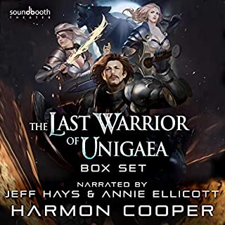 The Last Warrior of Unigaea: Box Set cover art