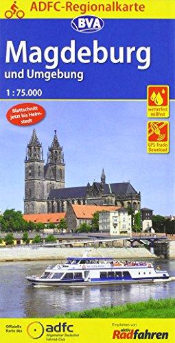 ADFC-Regionalkarte Magdeburg und Umgebung 1:75.000, reiß- und wetterfest, GPS-Tracks Download (ADFC-Regionalkarte 1:75000)