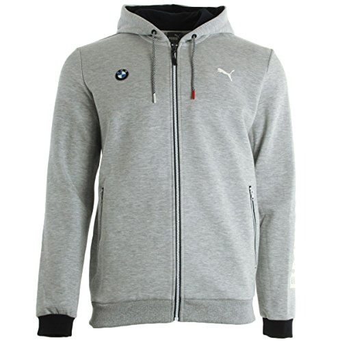 Puma Bmw MSP Hooded Sweat Jacket, Sportjackett - XL