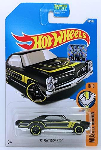 Hot Wheels 2017 Muscle Mania '67 Pontiac GTO 69/365, Black