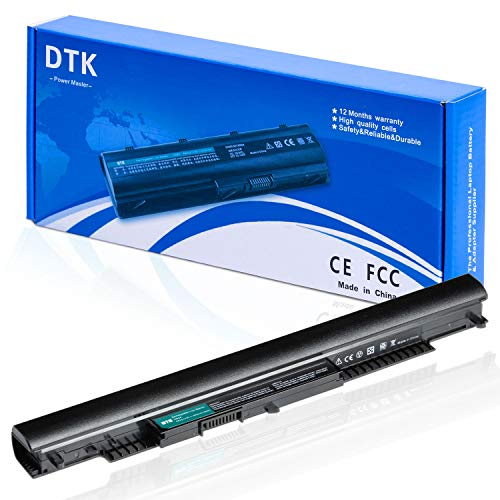 DTK HS04 HS03 807956-001 807957-001 Laptop Battery Replacement for HP 240 G4 / 245 G4 / 250 G4 / 255 G4 / Pavilion 14-AC / 14-AF / 15-AC / 15-AF Series Notebook 14.8V 2200mAh