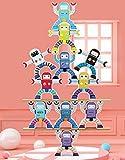 BESTING Balancing Stacking Blocks Robot Parent-Child Children's Educational Balance Wooden Stacking...