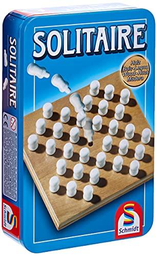 Schmidt Spiele 51231 Solitaire BMM Metalldose