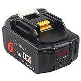 QUPER <span class='highlight'>18V</span> 6.0Ah bl1860 Li-ion <span class='highlight'>Replacement</span> Batteries(with LED Power Display) Compatible with Makita DKP180Z,DTM51Z,DHS680Z, DTD152Z, DJV181Z, DGA452Z, DTD152Z LXT, DJR188Z.