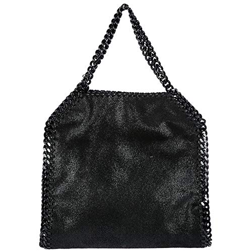 Stella McCartney borsa a mano falabella mini donna nero