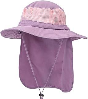 LUXISDE Bora Booney - Gorra de protección Solar para Hombre y Mujer, ala Ancha, Sombrero de Pesca, Solapa para el Cuello