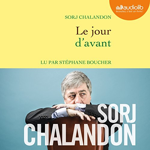 Le jour d'avant audiobook cover art