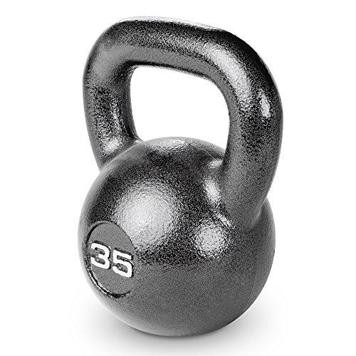 Marcy HKB-035 Hammertone Kettle Bell, 35 lb , Black